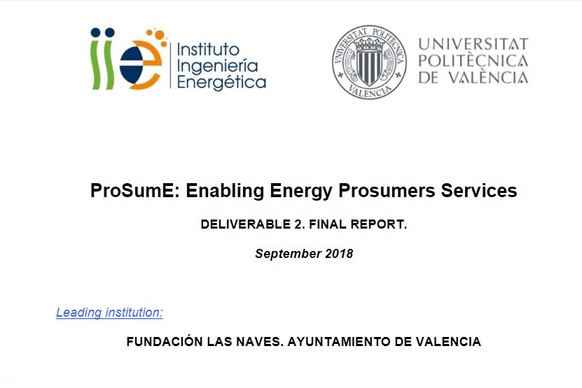 Analysis of the Technical Potential for Prosumer Production in Valencia