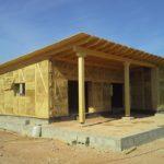 Estamos analizando la demanda energética de una vivienda construida con paja