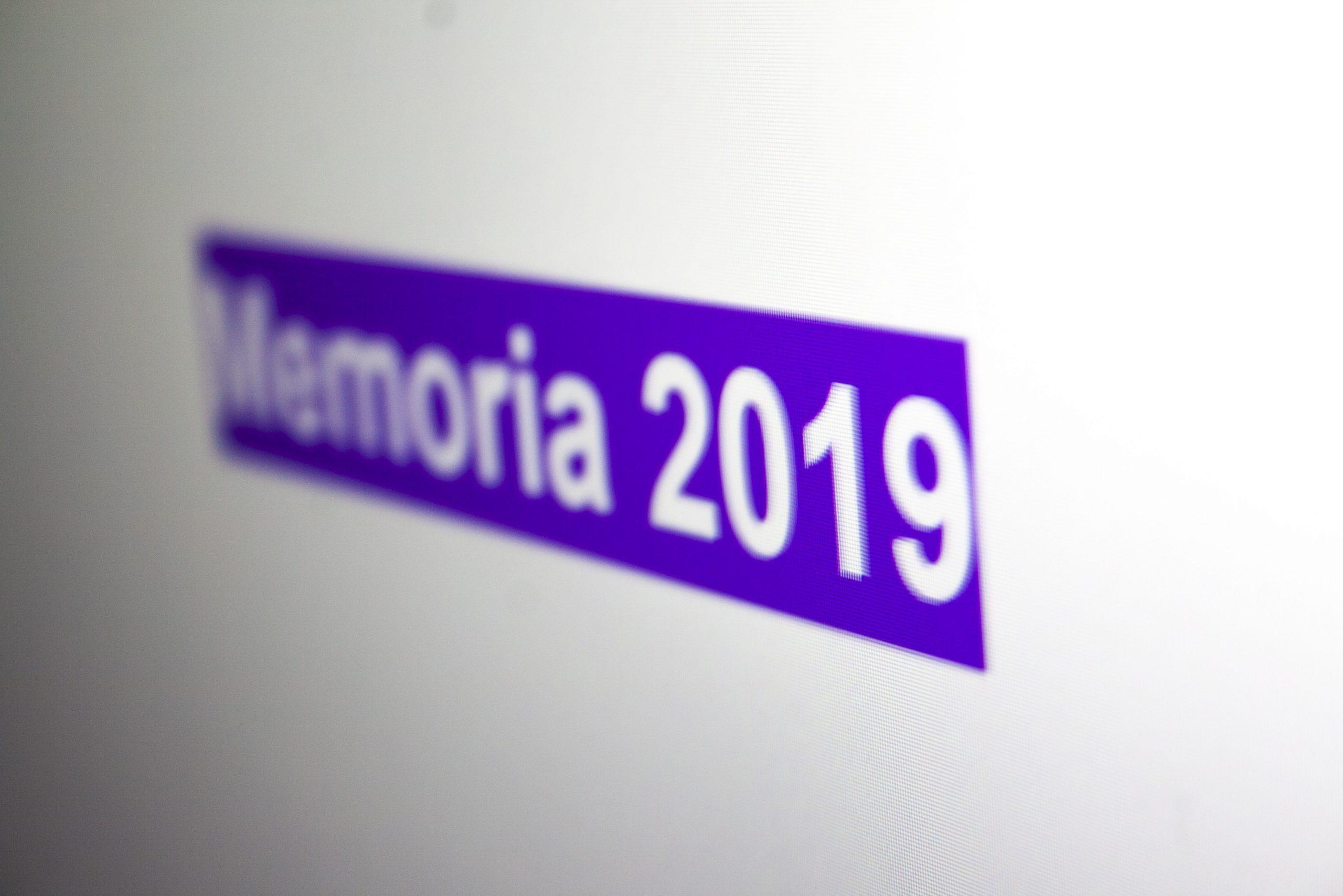 Memoria de actividades de la Cátedra 2019